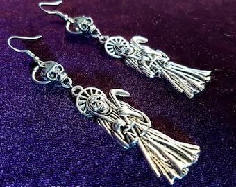 Santa Muerte Earrings (2 Styles)