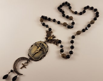 Lilith Rosary Necklace
