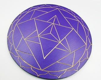 Merkabah Wall Plaque