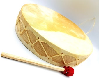 Double Sided Tarahumara Shaman Drum