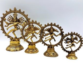 Brass Shiva Statue (4 Different Sizes)