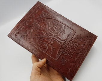 Celtic Leather Journal | Book