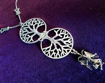 Baphomet As Above So Below Necklace