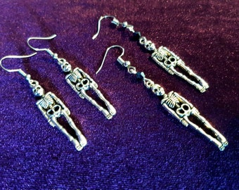 Skeleton Earrings (2styles)