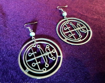 Sigil of Aim Earrings ( Stainless Steel)