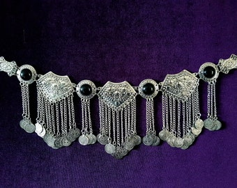 Traditional Kuchi Gothic Coin Hip Chain Belt