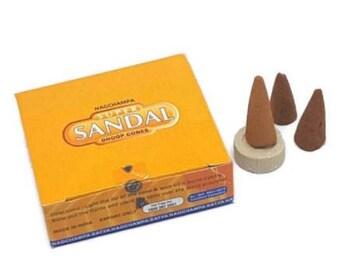Sandalwood Incense Cones from Satya Nag Champa