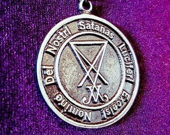 Nomine Dei Nostri Satanas Luciferi Excelsi - Amulet