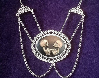 Siamese Twins Necklace