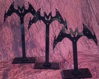 Vampire Bat Earring Stand - jewellery display hanger
