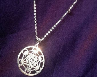 Merkabah-lucifer necklace  - merkabah lucifer occult blackmagic witch witchcraft gothic goth