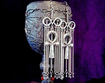 Infinity Ankh Earrings