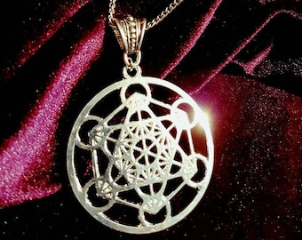 Merkabah Metatron Necklace