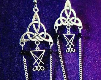 Luciferian Earrings