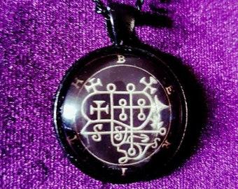 Sigil of Berith Pendant - occult left hand path goetia demon demonic goth gothic sigil