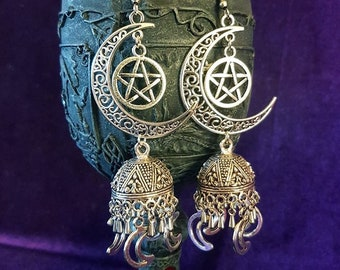 Elegant MoonGoddess Earrings