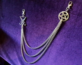 Pentagram Triple Wallet Chain