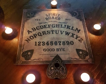 Ouija Spirit Board - ouija spirit sceance medium occult lucifer baphomet witch witchcraft astral travel