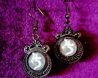 Sopor Aeternus Earrings & Necklace Set