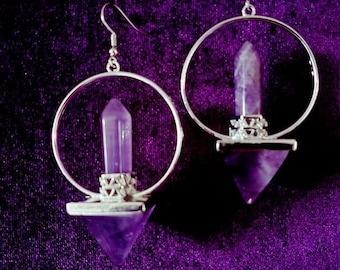 Lemurian Energy Earrings (2 Styles)