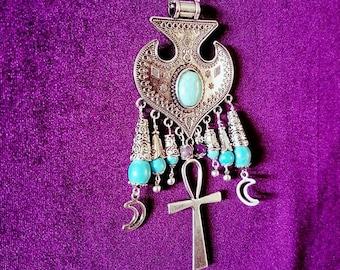 Turquoise Ankh Necklace