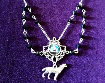Wolf Spirit Animal Necklace