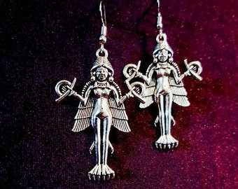 Lilith | Innana | Ishtar | Ereshkigal Earrings