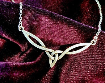 Celtic Knot  Elf Necklace