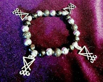 Luciferian Bead Bracelets