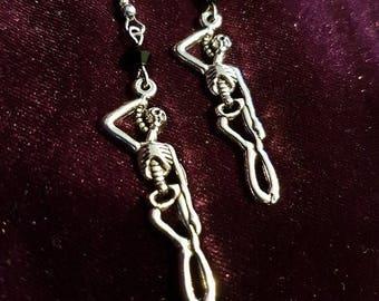 Hang Man Earrings