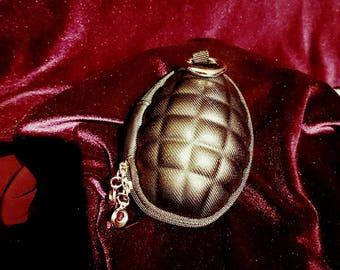 Grenade purse - purse gothic granaat granate goth