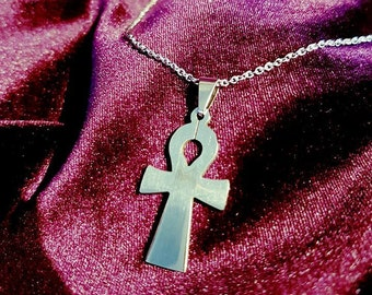 Ankh Necklace (Stainless Steel)