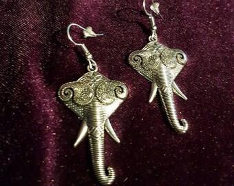 Elephant Earrings.