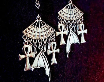 Vampire Earrings