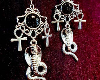 Cobra Earrings (2 styles)