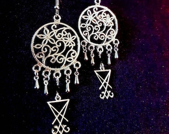Luciferian Earrings