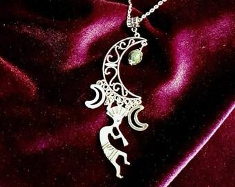 Mayan hom-tah moongoddess jewellery set - maya inspired crecent moon goddess jewellery goth gothic spiritual south america tribe