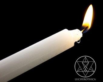 3 Erotic Wax Play Candles - sensual hot wax dripping sm candles