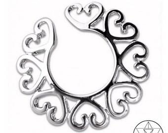 Heart Mandala Nipple Jewel.