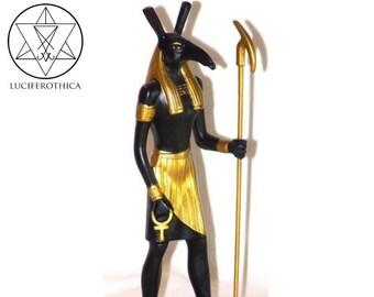 Egyptian God Seth Statue