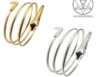 Serpent Arm Bracelet