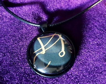 Dukante Sigil of Lucifer Necklace
