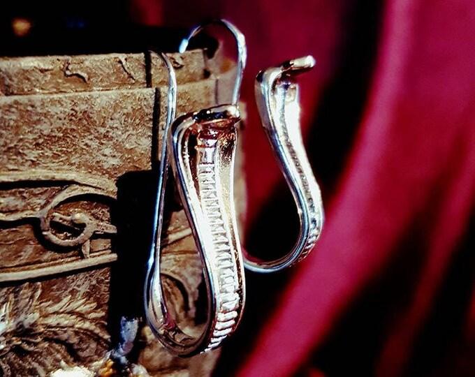 Cobra earrings - cobra egypt occult set lucifer satanic serpent gothic vampire lilith baphomet