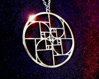 Golden Ratio Fibonacci Necklace