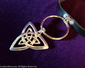 Big O-ring Triquetra Choker
