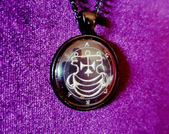 Sigil of Agares Necklace
