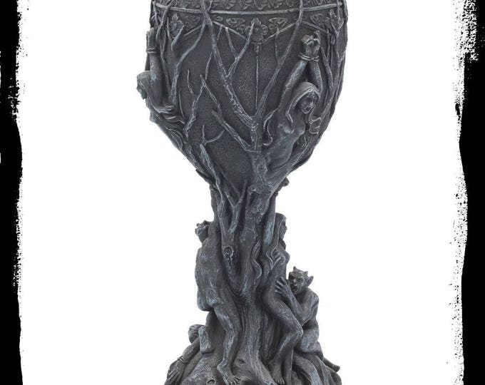 Demonic altar goblet - demon satan satanic gothic demonic altar goblet lucifer lilith