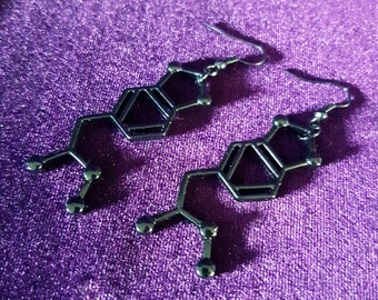 Xtc Black Earrings