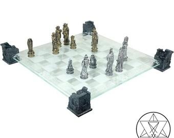 Vampire Skeleton Chess Board