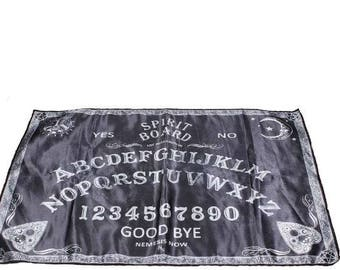 ouija altar cloth - ouija altar cloth gothic occult spirit spiritboard sceance medium astral projection wicca pagan witch witchcraft